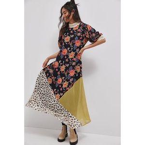 Anthropologie Soniya Maxi Dress Medium P